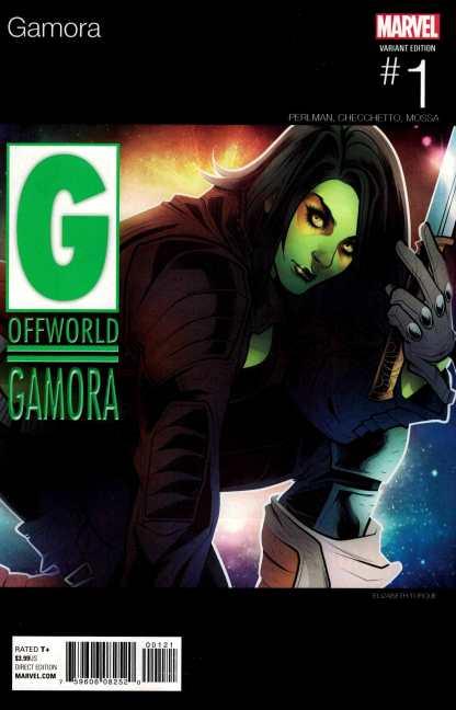 Gamora #1 Torque Hip Hop Variant NOW Marvel 2016 Guardians of the Galaxy