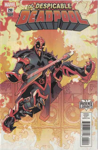 Despicable Deadpool #290 Unlocked R. B. Silva Phoenix Variant Marvel Legacy