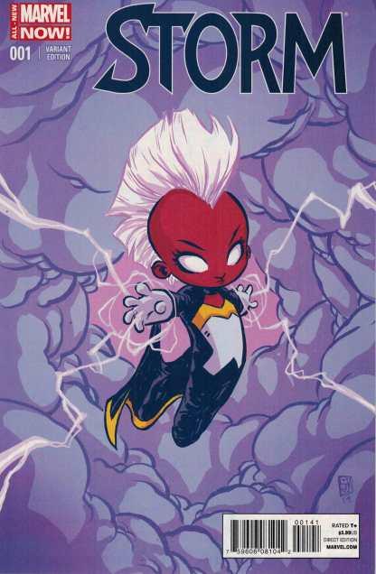 Storm #1 Skottie Young Baby Variant Marvel 2014 X-Men