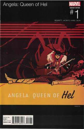 Angela Queen of Hel #1 Annie Wu Hip Hop Variant Marvel 2015