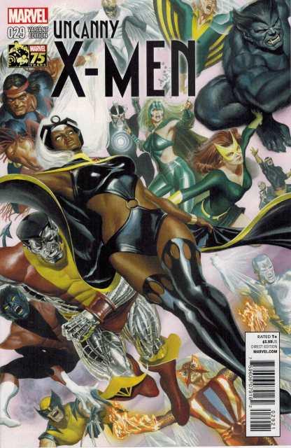 Uncanny X-Men #29 1:75 Alex Ross Color Variant Marvel NOW 2013