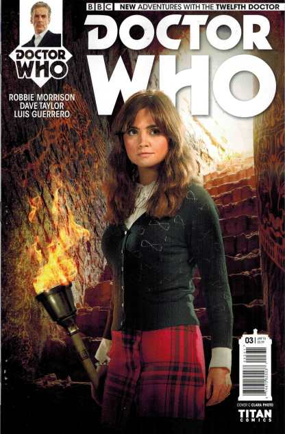 Doctor Who 12th #3 1:10 Clara Photo Retailer Incentive Variant Cover C