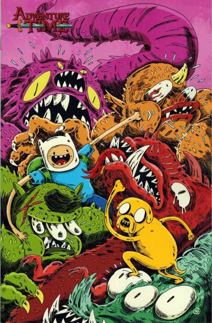 Adventure Time #35 1:20 Giegrich Retailer Incentive Variant Cover C Kaboom 2014