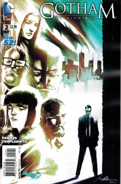 Gotham By Midnight #2 1:25 Ray Fawkes Variant