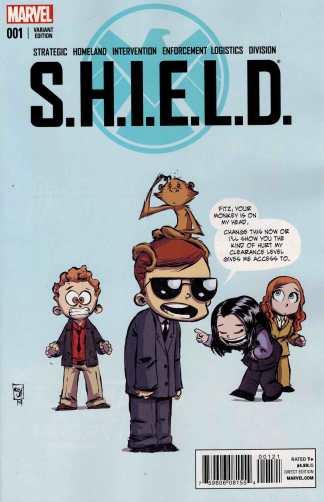 SHIELD #1 Skottie Young Baby Variant S.H.I.E.L.D.