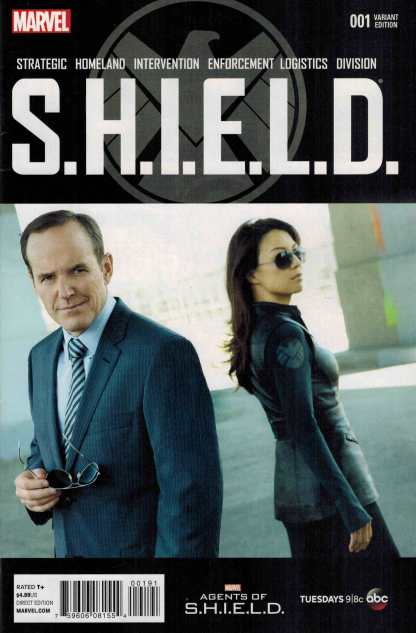 SHIELD #1 1:15 Marvel Agents of Shield Photo Variant MAoS