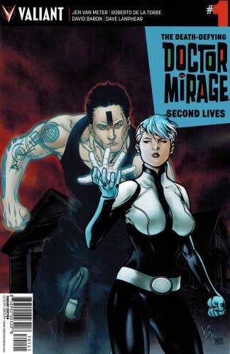 Doctor Mirage Second Lives #1 1:10 Evans Variant Valiant 2015 Dr