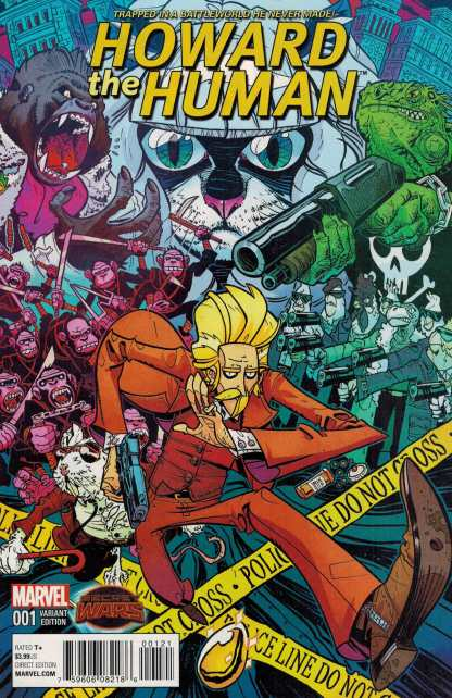 Howard the Human #1 Conley Variant Marvel Secret Wars 2015 ANAD