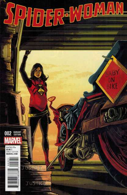 Spider-Woman #2 1:25 Ming Doyle Variant Marvel ANAD 2015