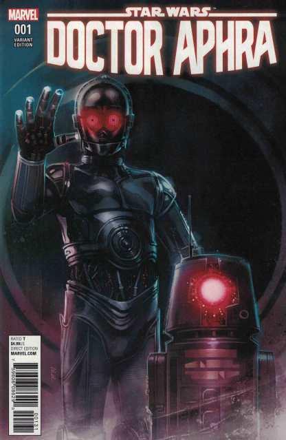 Star Wars Doctor Aphra #1 1:25 Rod Reis Droids Variant Marvel 2016