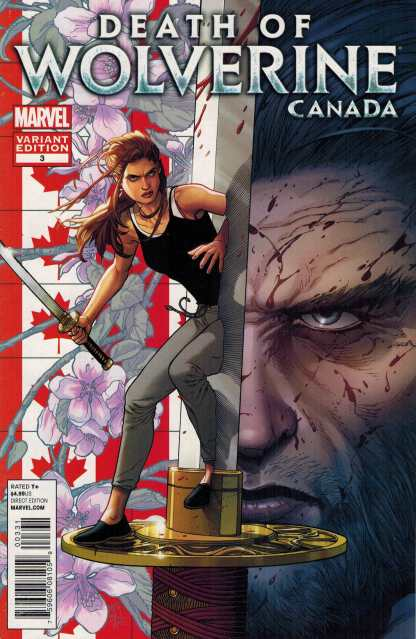 Death of Wolverine #3 CANADA Variant