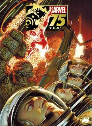 Marvel 75th Anniversary Magazine Alex Ross Fantastic Four Variant 2014 HTF