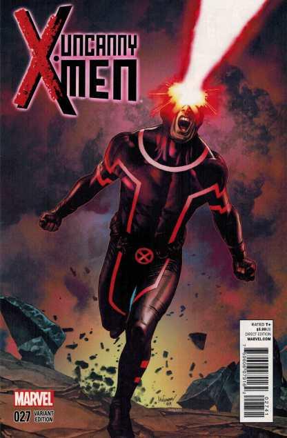 Uncanny X-Men #27 1:15 Suayan Variant