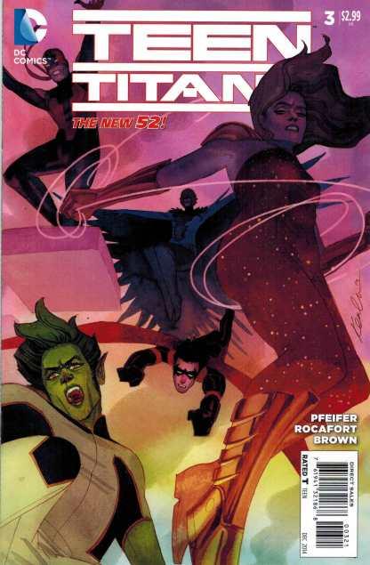 Teen Titans (2014) #3 1:25 Kevin Wada Variant New 52
