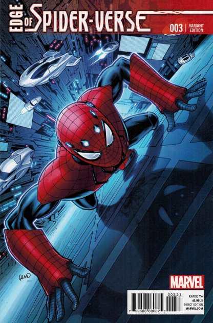Edge of Spider-Verse #3 1:25 Greg Land Variant