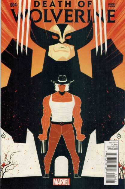Death of Wolverine #4 1:50 Juan Doe Variant