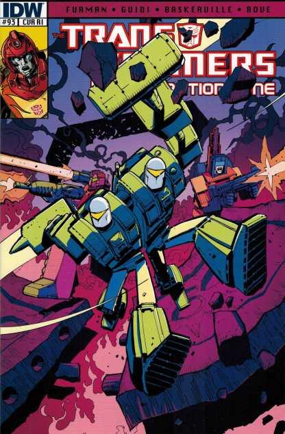 Transformers Regeneration One #93 Retailer Incentive Variant RI