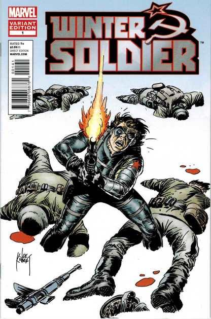 Winter Soldier #1 1:25 Joe Kubert Variant 2012 Marvel