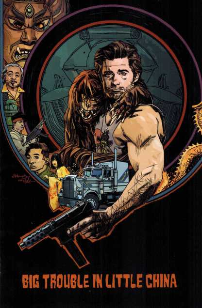 Big Trouble In Little China #3 1:25 Tommy Lee Edwards Variant