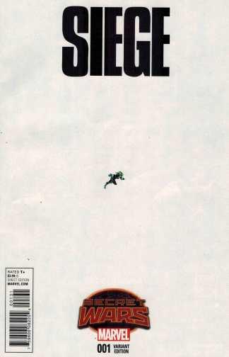 Siege #1 1:15 Bengal Ant-Sized Variant Marvel Secret Wars 2015 SWA