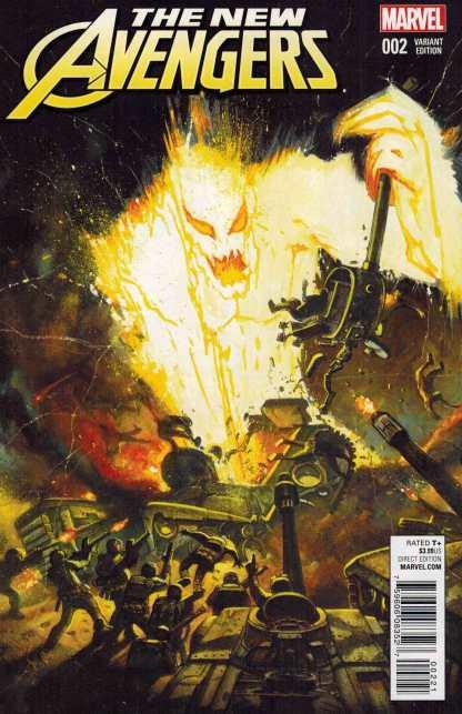 New Avengers #2 1:10 Bisley Kirby Monster Variant Marvel ANAD 2015