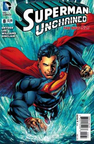 Superman Unchained #8 1:50 Ivan Reis Variant