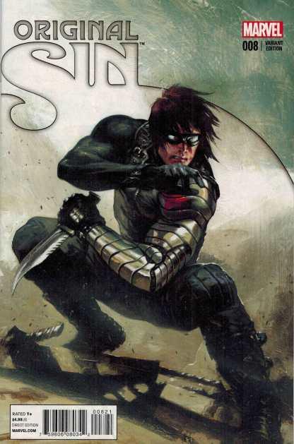 Original Sin #8 1:50 Gabriell Dell'Otto Winter Soldier Variant