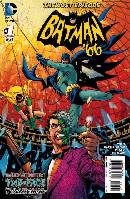 Batman '66: The Lost Episode #1 1:25 Garcia-Lopez Variant