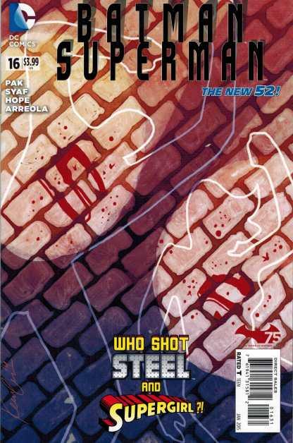 Batman Superman #16 1:25 Kevin Wada Variant New 52 2011 DC