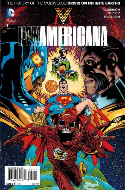 Multiversity Pax Americana #1 1:50 Patrick Gleason Variant DC 2014 Morrison