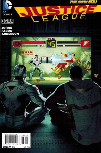 Justice League #36 1:25 Joshua Middleton Variant DC 2011