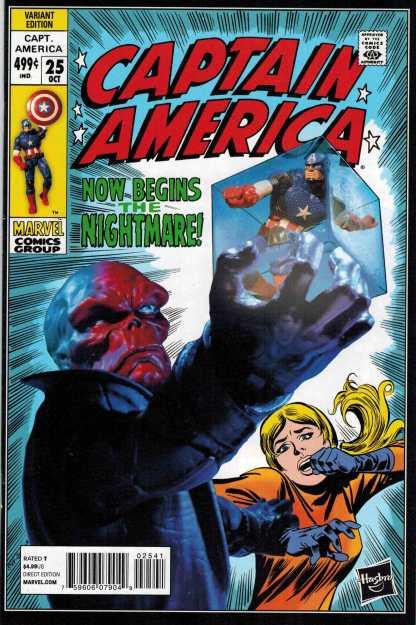 Captain America #25 1:15 Hasbro Variant Marvel NOW 2013