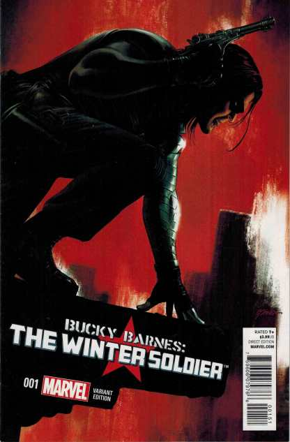 Bucky Barnes The Winter Soldier #1 1:25 Steve Epting Variant