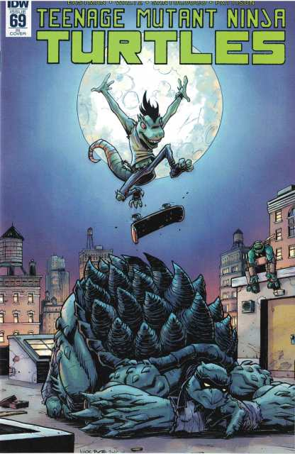 TMNT Ongoing #69 1:10 Nick Roche RI Variant IDW