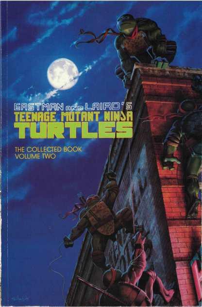 Eastman & Laird Teenage Mutant Ninja Turtles Collected Book Volume 2 VF