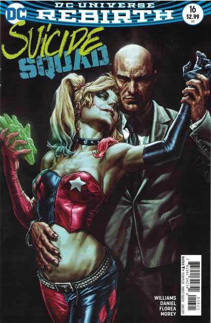 Suicide Squad #16 Lee Bermejo Variant DC 2016