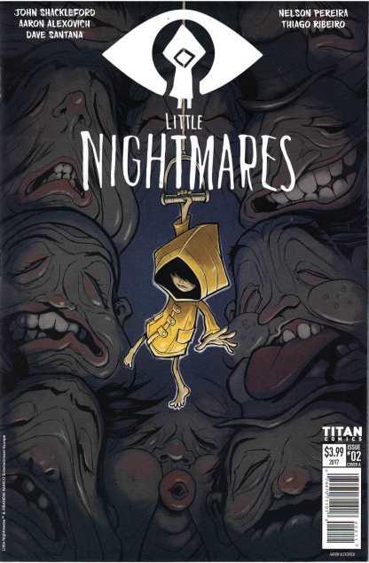 Little Nightmares #2 Aaron Alexovich Cover A 1st Print Titan 2017