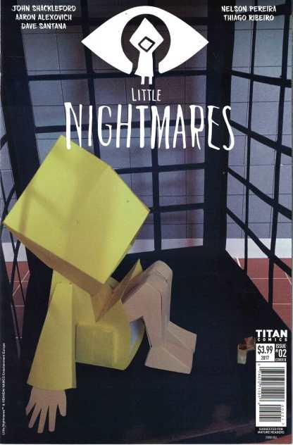Little Nightmares #2 Ryan Hall Cover B 1st Print Titan 2017