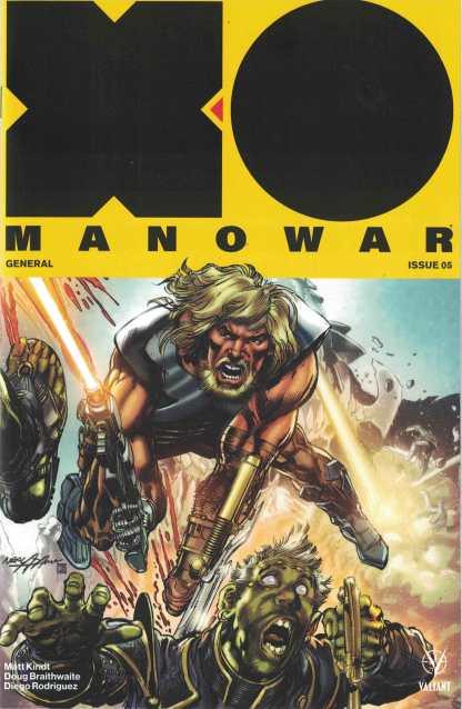 X-O Manowar #5 1:50 Neal Adams Icon Valiant Variant 2017