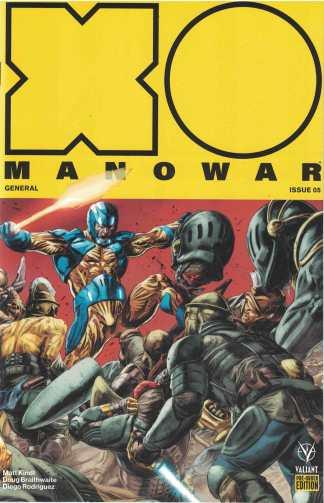 X-O Manowar General #5 Pre-Order Edition Valiant 2017