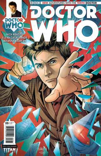 Doctor Who 10th #3 1:10 Retailer Incentive Variant Cover C Titan Comics