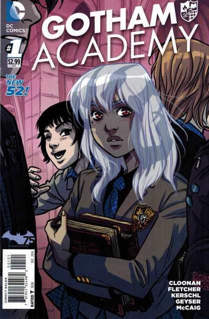 Gotham Academy #1 1:25 Becky Cloonan Variant DC New 52