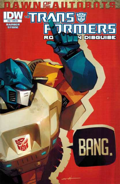 Transformers: More Than Meets the Eye #33 1:10 Retailer Incentive Variant RI