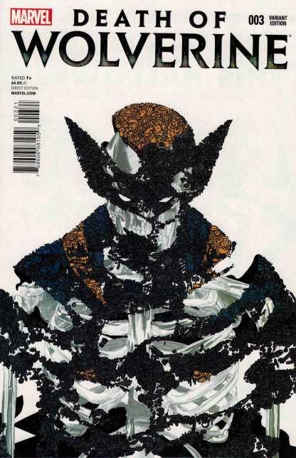 Death of Wolverine #3 1:50 Santiago Variant