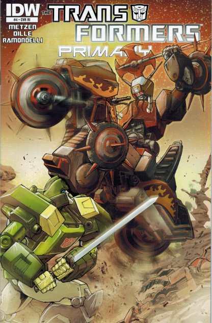 Transformers Primacy #4 1:10 Retailer Incentive Variant RI
