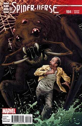 Edge of Spider-Verse #4 1:25 Greg Land Variant Marvel 2014