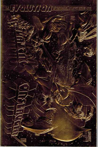 Onslaught X-Men 22 Karat Gold Limited Edition Variant Marvel w/COA #1920