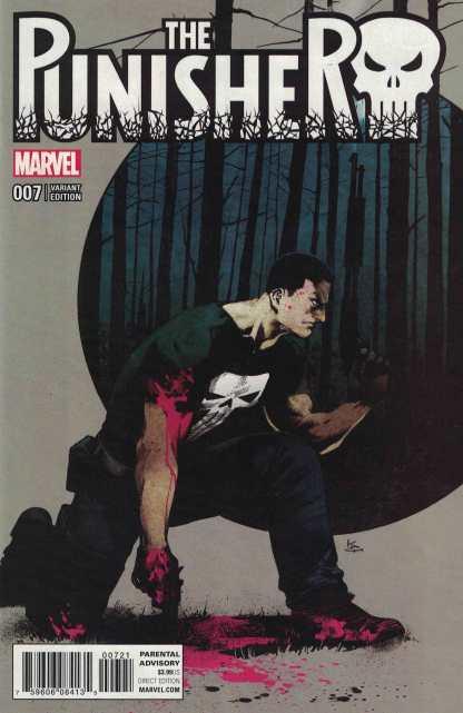 Punisher #7 1:25 Shirahama Variant Marvel ANAD 2016 Cloonan