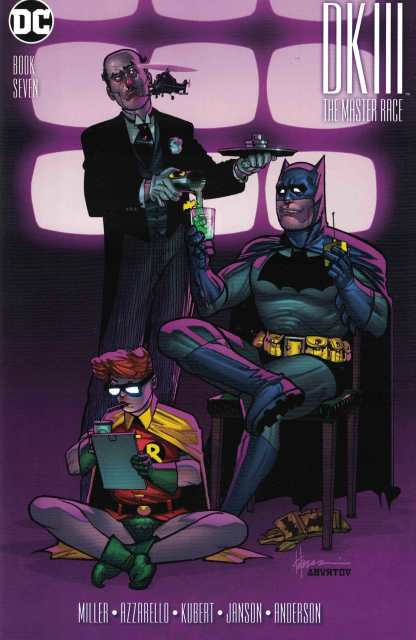 Dark Knight III Master Race #7 1:50 Howard Chaykin Variant DC 2015 Batman DK3
