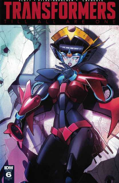 Transformers Till All Are One #6 1:10 Retailer Incentive Variant RI IDW 2016